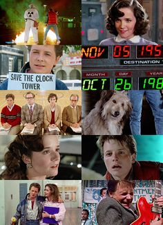 thrillers:   Back to the Future Trilogy; Back to the Future (1985), Back to the Future II (1989), Back to the Future III (1990). Director: Robert Zemeckis.