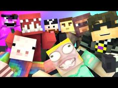 Minecraft Mini-Game : DO NOT LAUGH! (JUSTIN BIEBERS HOUSE, BAZOOKA DOG) w/ Facecam - YouTube