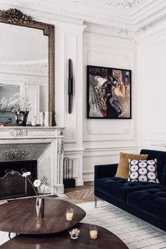 TAKE2T00 Interior Design Living Room, Living Room Designs, Garage Interior, Modern Garage, Living Rooms, Oversized Mirror, Furniture, Home Decor, Sitting Rooms