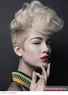 luv it, if I had this color hair and could pull it off I so would