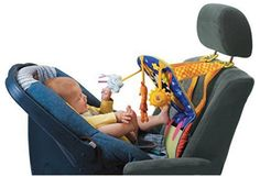 Baby Car Toy - Kick and Play Musical Travel Activity Center for Rear F | Brats On Board