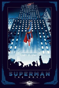 In the wake of Man of Steel and Batman v Superman, some people have had a certain nostalgia for the Superman of old. A brighter, more hopeful take on the character, best seen in Richard Donner's 1978 film, Superman: The Movie. Superman Poster, Superman Movies, Dc Movies, Comic Movies, Marvel Movies, Comic Books, Superman Stuff, Superhero Poster, Superman Family