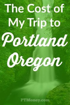 I recently traveled to Portland, OR for a conference. I wanted to keep my travel expenses low due. Here's a quick recap of how I did.