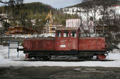 Old train Fagernes