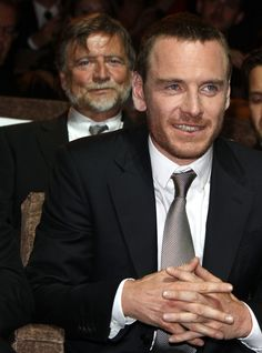 father and son.  And because it's monday.....some monday fassy handporn!