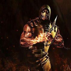 Escorpion Mortal Kombat, Sub Zero Mortal Kombat, Vr Troopers, Mortal Combat, Mighty Morphin Power Rangers, Ghost Rider, Horror Art, Street Fighter, Rogues