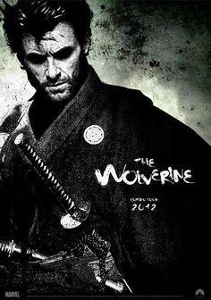 The Wolverine Next to batman the best hero. Samurai...can't wait!