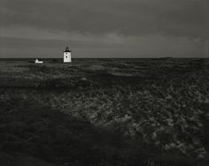 Michael Schley. Lighthouse.Provincetown MA. Cape Cod. Gelatin Silver Print.