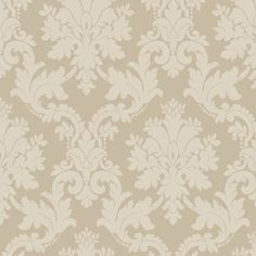 Byron Wallpaper in Beige by Arthouse Eco