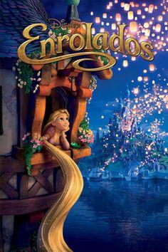 Enrolados - Quando o bandido mais procurado e encantador do reino, Flynn Rider, se esconde em uma misteriosa torre, a última pessoa que ele espera encontrar é Rapunzel, uma adolescente cheia de vida com um poder incomum: 21 metros de um cabelo dourado mágico! Juntos, a dupla parte em uma fantástica jornada cheia de heróis surpreendentes, risadas e suspense.
