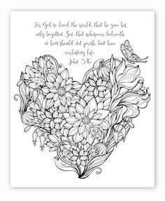 """FREE printable adult coloring sheets w/ bible verses. Everyone says it is a great stress reliever! The finished projects always look so pretty and I have seen some framing them. I ordered coloring pencils from Amazon, nothing pricey. And Time Warp Wife offers a FREE printable design from her website every Friday!! You can find it under the Bible Study Resources """"Learning to Love"""" Study links. @timewarpwife Visit my site: http://www.diaryofadeaconswife.com/:"""