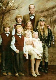 Every family has a black sheep