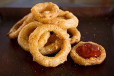 Double Crunch Sweet Maui Onion Rings