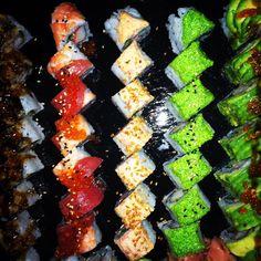 Sushi! Restaurant Bar, Sushi, Sushi Rolls