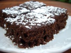 Zucchinibrownies - veganolution :. vegane rezepte