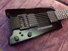 Rare Pre-Production Steinberger GL2 Hardtail Guitar - Restored by Jeff Babicz!  #Steinberger