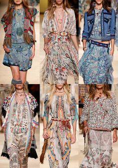 Milan Womenswear Print Highlights Part 1 – Spring/Summer 2015 catwalks   Etro