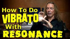 """How To Do Vibrato With Resonance - Ken Tamplin Vocal Academy What is """"Vibrato"""" for singing and why does it matter? A true natural vibrato is the """"final resti. Vocal Lessons, Singing Lessons, Singing Tips, Music Lessons, Songs To Sing, Music Songs, Sing Sing, Vocal Training, Singing Techniques"""