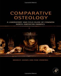 Comparative Osteology: A Laboratory and Field Guide of Common North American Animals by Bradley Adams. $42.45. Publication: December 14, 2011. Publisher: Academic Press; 1 edition (December 14, 2011). Edition - 1