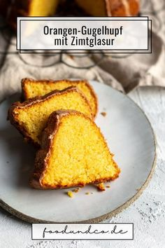 Tag des Gugelhupfs: mein Orangen-Gugelhupf mit Zimtglasur ist so saftig und luftig, das Geheimnis ist das Toastbrot im Teig. #TagdesGugelhupfs #TagdesGugelhupf #Kuchen #backen #gugelhupf #sonntagskuchen #zimt Cupcake Art, Easy Peasy, Diy Food, Cornbread, Good Food, Favorite Recipes, Sweets, Breakfast, Desserts