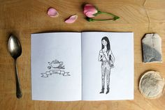 If Teas Were People Zine (2) by (kiss me) go on Flickr.