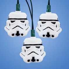 Strom Troopers from Star Wars give these ten string lights party flair, making them great as an entertainment piece or funky accent.