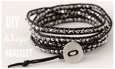 DIY Wrap Bracelet. The ultimate summer accessory #jewelryinspiration #cousincorp