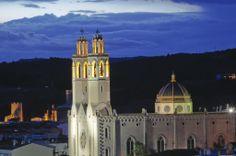 Sant Pere de Ribes - Iglesia atardecer - Autor: Avel.lí Pérez