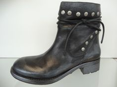 Nice black boot with studs  Soule Shoes