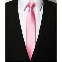 Slim Mens Pink Tie Novelty Skinny Neckties Cravat Tie Nice Wedding Holiday Ties #Unbranded #Tie