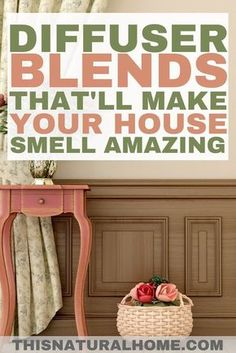 Diffuser Blends That'll Make Your House Smell Amazing Essential oils have so many amazing benefits, but sometimes we just want to use them because they smell so good. These diffuser blends will make your house smell simply amazing!