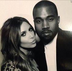 Kim and Kanye x