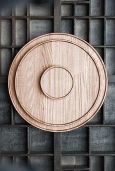 Hasami Porcelain Wooden Tray / Lid [220 x 21 mm]