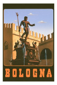 Bologna This collection of travel posters are bursting with color and vintage typography, patterned after some of the most desirable and history-rich travel destination Travel Trailer Interior, Travel Trailer Remodel, Travel Trailers For Sale, Vintage Travel Trailers, Vintage Travel Decor, Vintage Travel Wedding, Vintage Travel Posters, Vintage Italian Posters, Travel Nursery