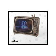 tv2 - Pepeyoyo Enamel, Pendants, Accessories, Vitreous Enamel, Hang Tags, Enamels, Pendant, Tooth Enamel, Charms