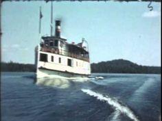 "1940's Steamer ""Belle"" Lake Temagami Ontario"