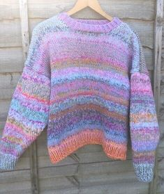 Hand Knitted Sweaters, Women Sleeve, Jumpers For Women, New Shoes, Sleeve Styles, Hand Knitting, Wool, Lady, Long Sleeve