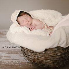 studio session newborn photography