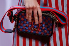 Marc Jacobs Debuts Beautifully Embellished Bags on His Spring 2016 Runway