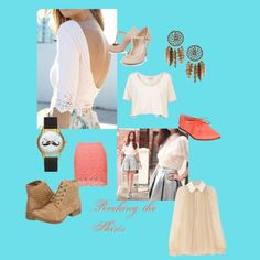 """""""Rocking the Skirts"""" by lizzy-loveroflife16 on Polyvore"""