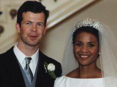 The Interracial Royal Wedding. Prince Maximilian and Princess Angela of Liechtenstein