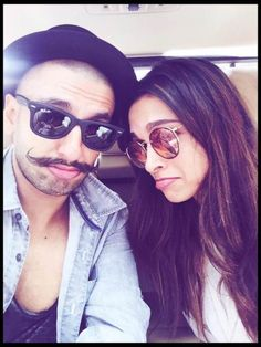 Deepika Padukone and Ranveer Singh... Such cutiepies