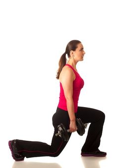 Walking lunges can count as your cardio! Get some other great cardio interval exercises to shed the pounds here!