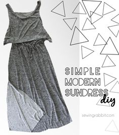 Layered Bodice Sundress DIY - 30 Days of Sundresses - The Sewing Rabbit