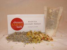 Element Earth Lavender Release Bath Tea