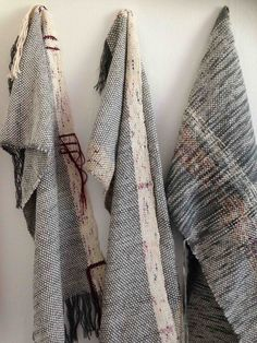 Kate Whitehead Textiles -  Hand Woven Shawls Made from Wool, Cotton, String & unwanted yarns. © 2015 Kate Whitehead