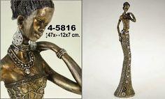 Figura Resina Africana Home Deco, Wonder Woman, Superhero, Lady, Fictional Characters, Image, Women, Gift Shops, African