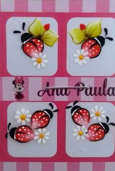 Nail Art Designs, Design Art, E Flowers, Nail Designer, Cool Nail Art, Nail Arts, Manicure And Pedicure, Ladybug, Folk Art