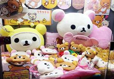 Try your luck with this Rilakkuma UFO Catcher.