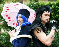 Fairy Tail. This is really great cosplay.